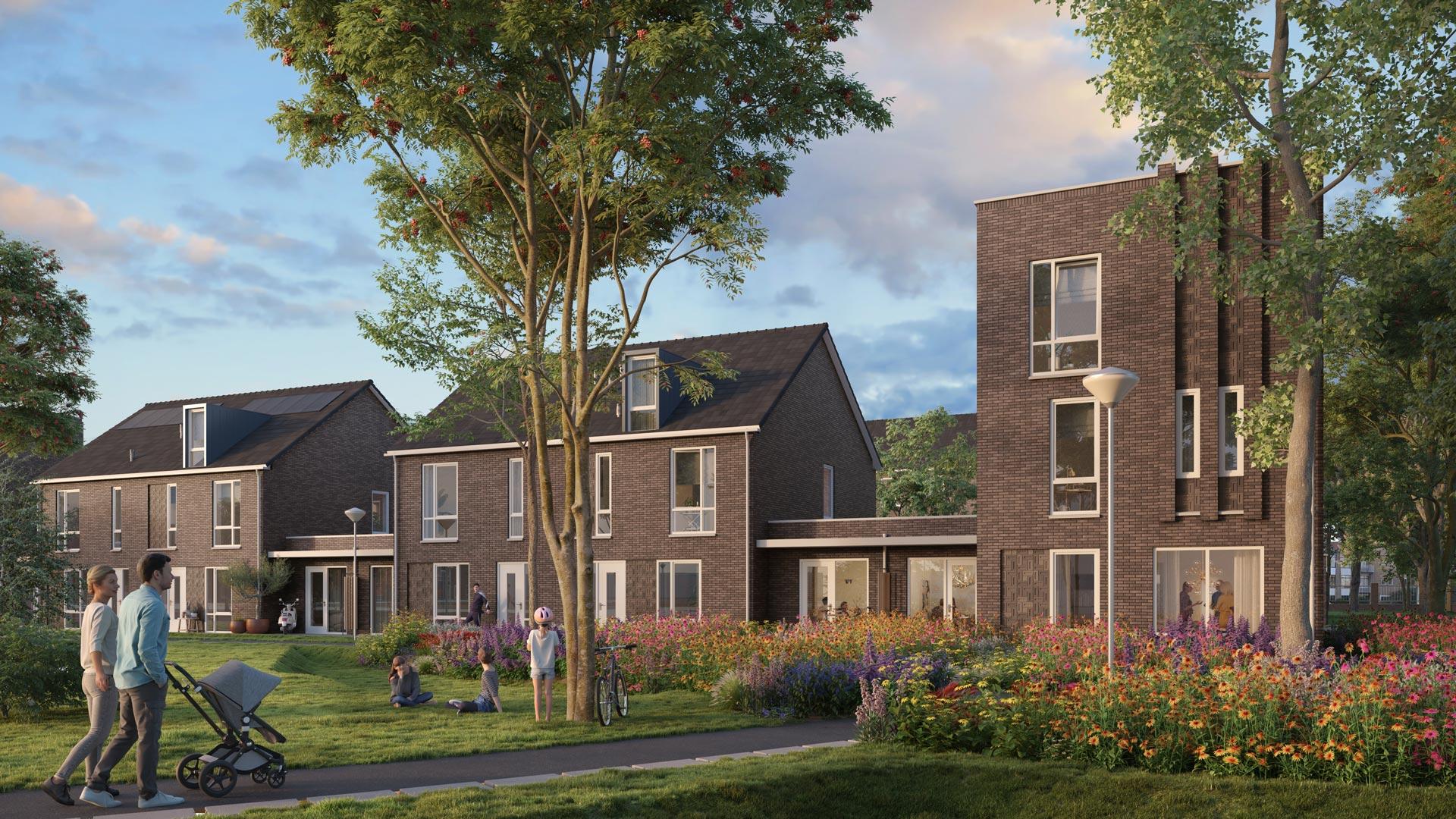 Nieuwbouw Deventer - Fase 2 - Artist Impression 10 - Plan G