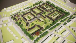 Nieuwbouwproject Deventer - Vogelvlucht - Geertruidentuin